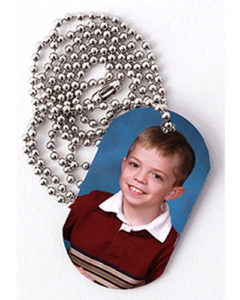 3J Double Sided Metal Dog Tag